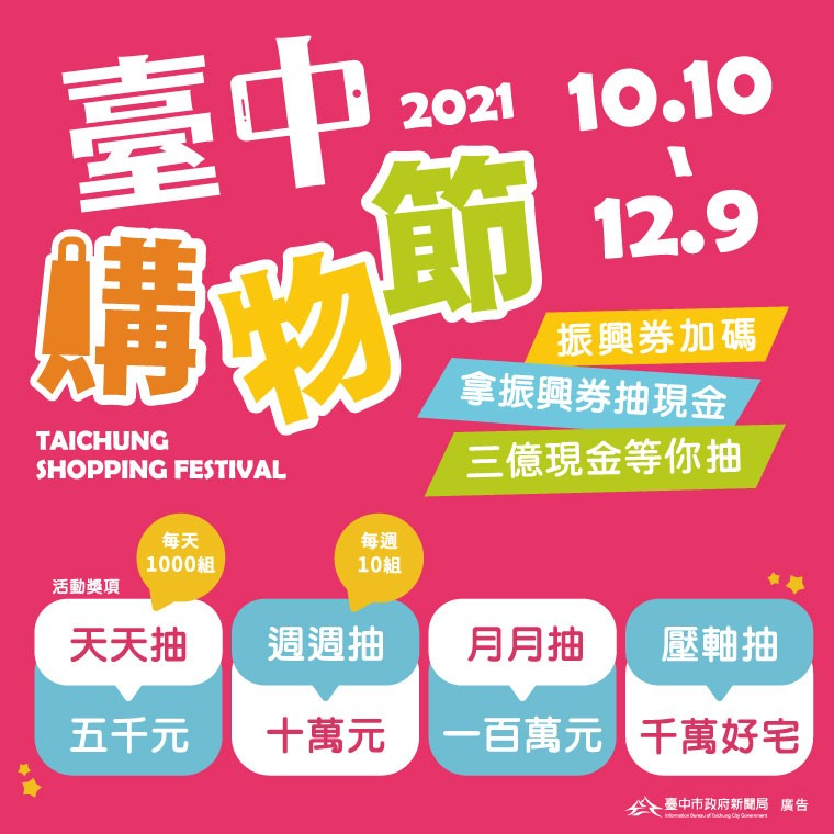 2021臺中購物節